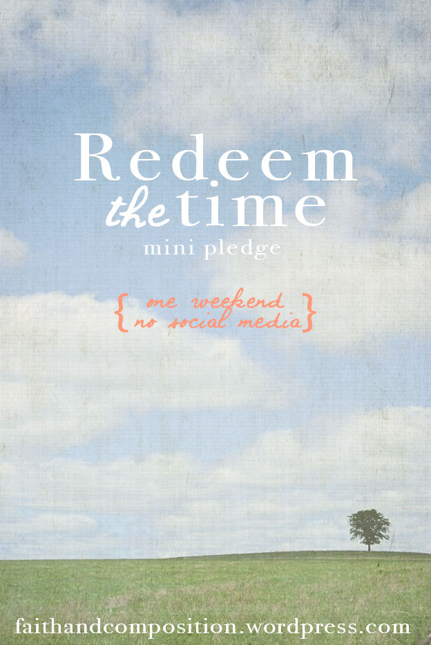 RedeemTheTime - A Weekend without Social Media