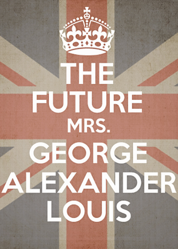 Free printable, the future Mrs. George Alexander Louis | Faith and Composition