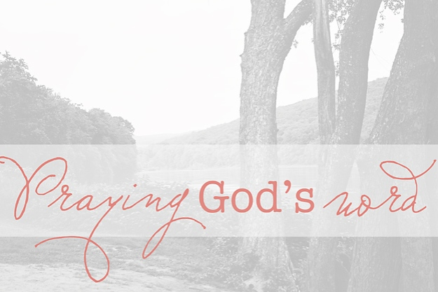 Praying God's Word for your family   Faith and Composition