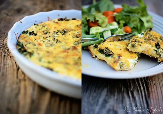 Quick No-Pastry Quiche | Faith and Composition