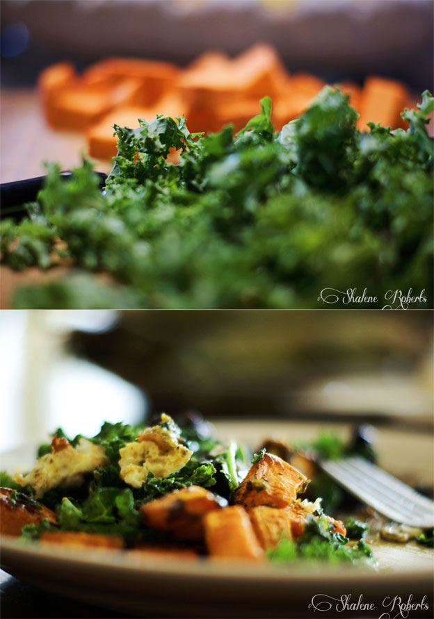 Sweet Potato, Black Bean and Egg Mash-up | Faith and Composition