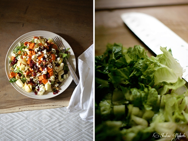 Chopped Harvest Salad | Faith and Composition