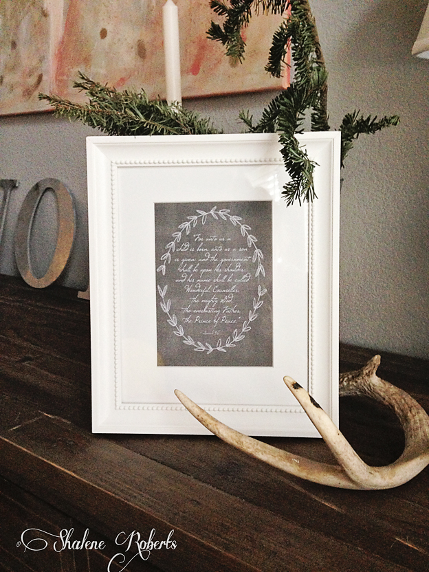 Free Christmas Printable | Faith and Composition