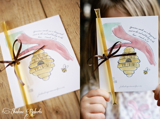 Free Printable Valentine | Faith and Composition