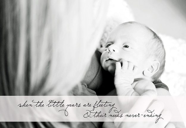 When the Little Years are Fleeting and Their Needs Never-Ending | Faith and Composition