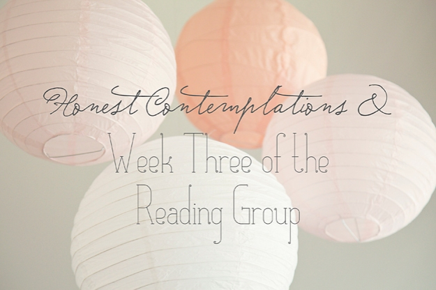 Sharing some honest authenticity, plus week three of the reading group | Faith and Composition