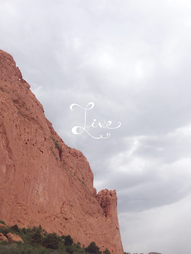 Garden of the Gods | photo and design by Faith and Composition