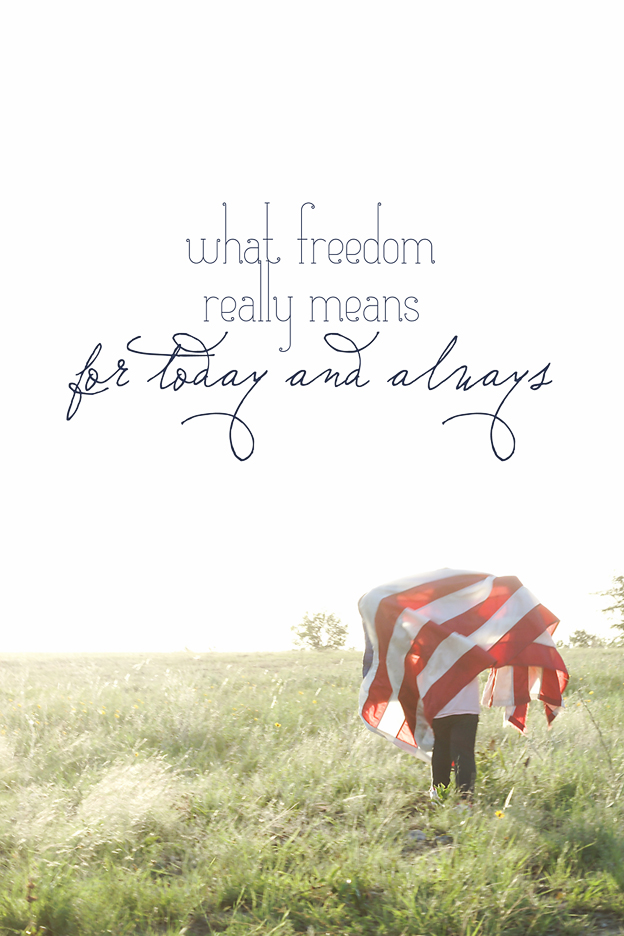 What Freedom Really Means. liberation for you and me that spans eternity | Faith and Composition