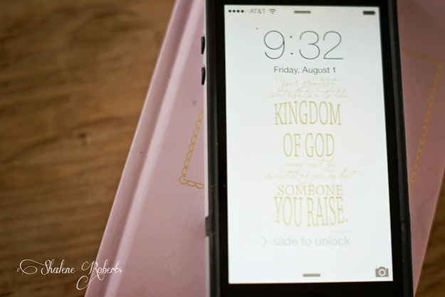 Encouraging Quotes and Free iPhone Wallpaper | Faith and Composition