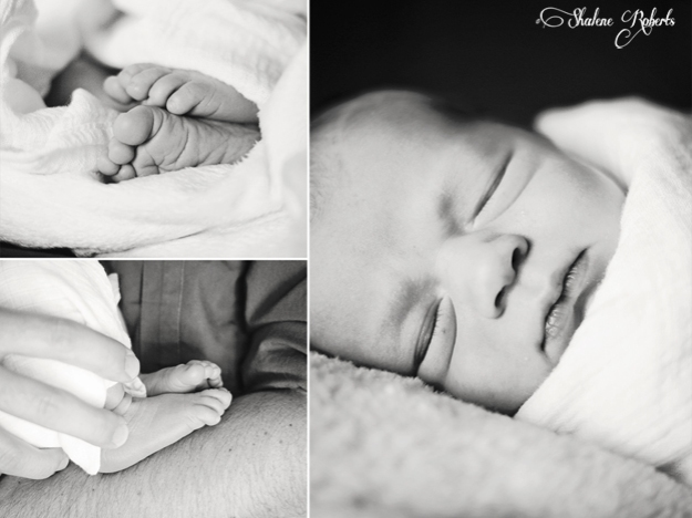A Quick Hello and the Sweetest Newborn Session