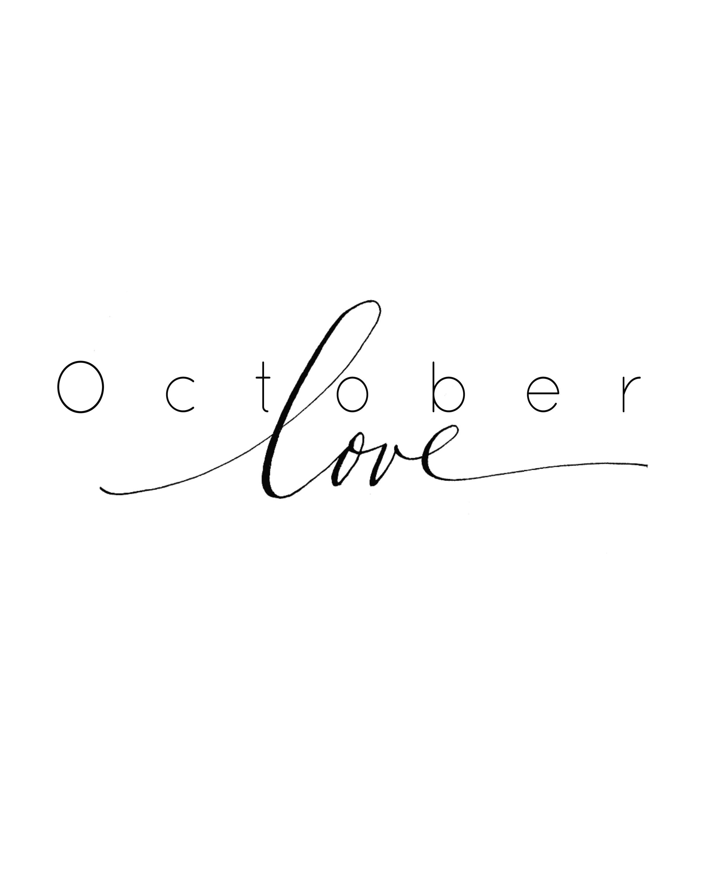 Image result for october love images