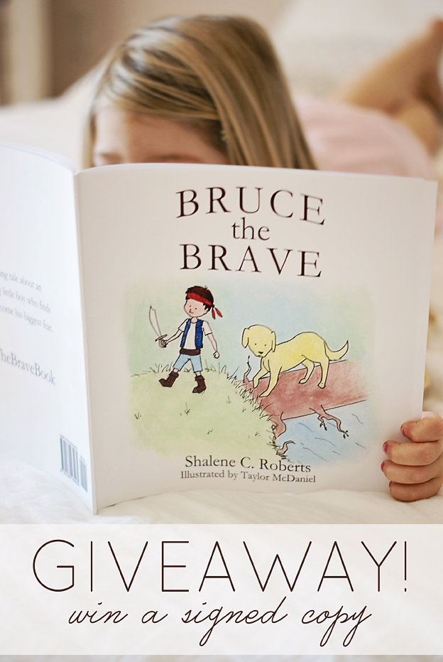 GIVEAWAY! Bruce the Brave: a tale of faith to overcome fear